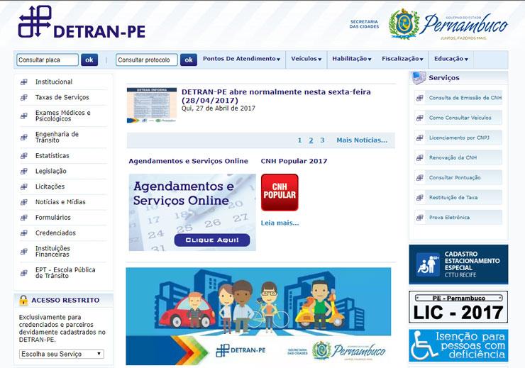 Consulta IPVA PE