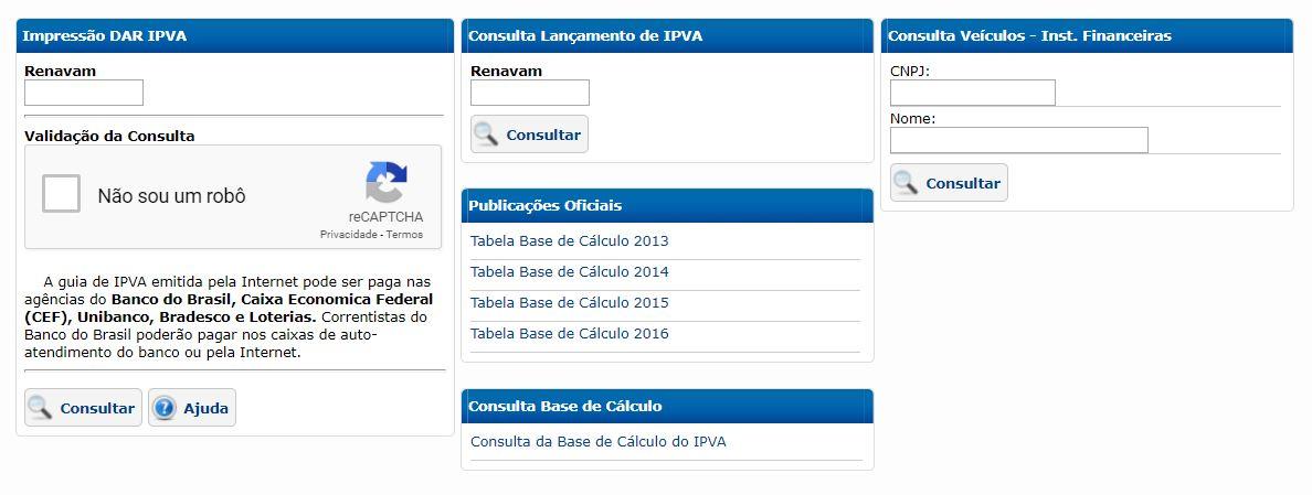 Consulta IPVA Amazonas
